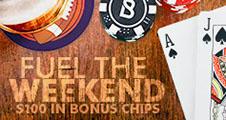 Bovada Blackjack Weekends Promo