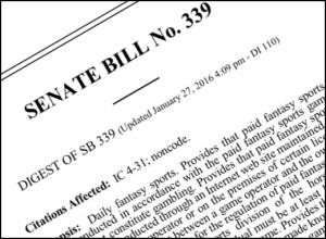 SB 399 Indiana DFS Bill