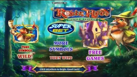 Robin Hood Prince of Tweets Features