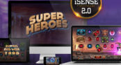iSENSE 2.0+ Desktop and Mobile Gaming Framework