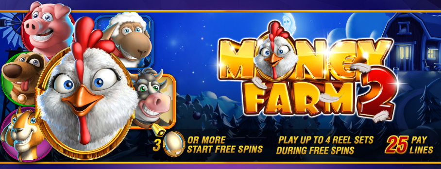 New Tablet Slots Game Money Farm 2