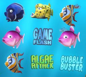New Tablet Slots Game - Fish Tank Slot Symbols