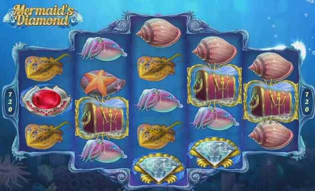 Mermaid's Diamonds Mobile Slots with 720 Ways to Win