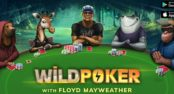 Floyd Mayweather on Mobile Casino App Wild Poker