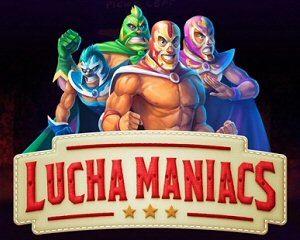 New Wrestling Slot Machine by Yggdrasil Lucha Maniacs Slot