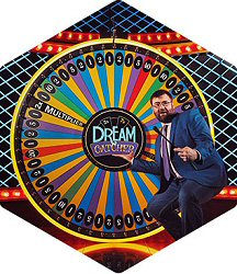Live Dealer Casino Gaming Dream Catcher Wheel