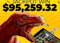 Megasaur Jackpot Slot pays $95k Win after Player Increases to Max Bet