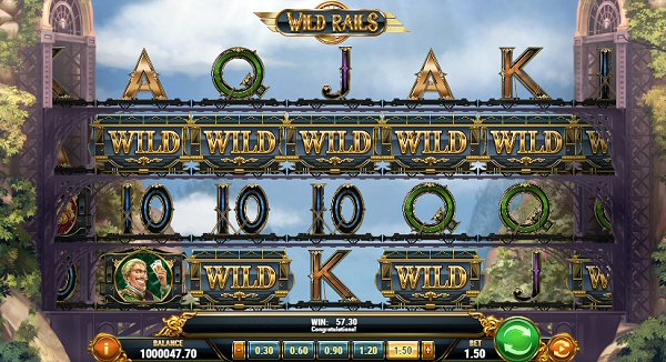 Wild Rails Slot Departing Play'n Go Station July 11