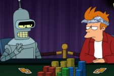 Death by Gambling Bots: First Online Backgammon, Next Online Poker?