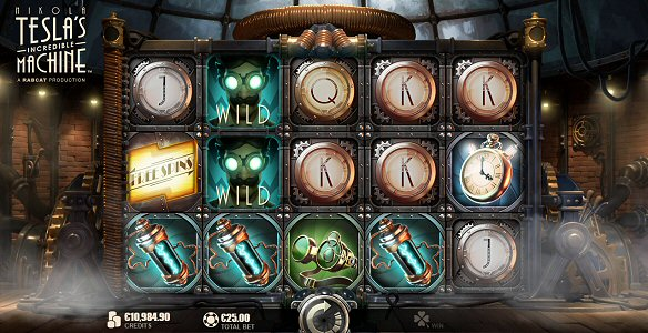 Slot Review Nikola Tesla's Incredible Machine