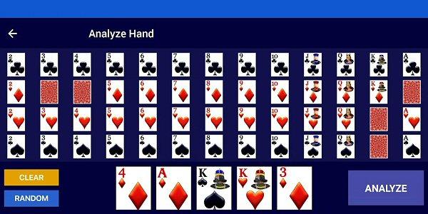 Video Poker Strategy App Hand Analyzer