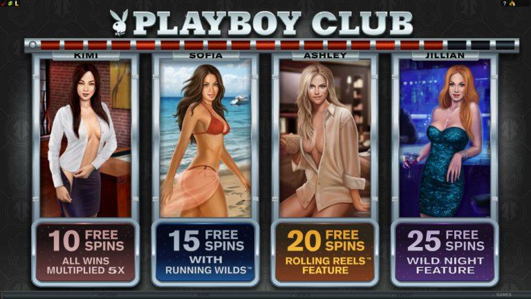 Original Playboy Online Slot by Microgaming