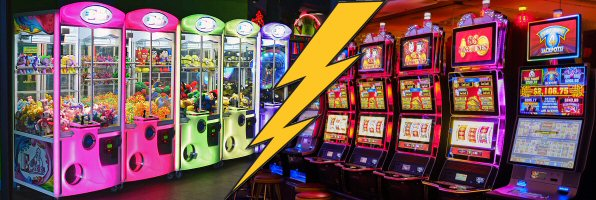 Arcade Claw Machines & Casino Slot Machines Frighteningly Similar