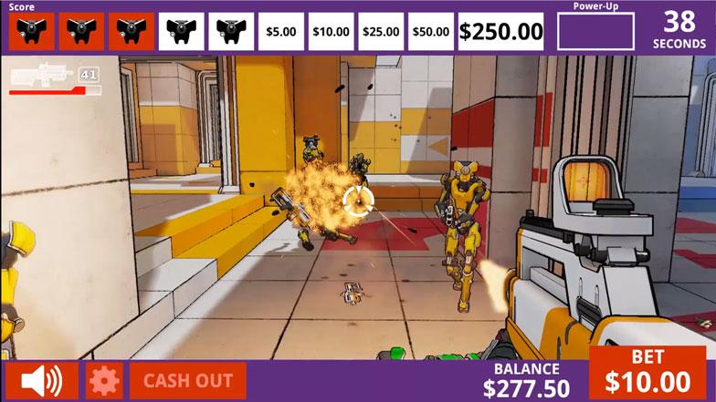 Video Game Slots - Danger Arena Falsely Mimics Skill Gaming
