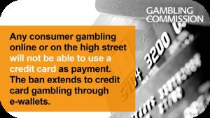 UKGC Bans Credit Card Gambling
