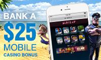 Tablet Casino Promo at Slots.lv