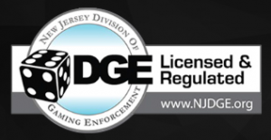 Nj DGE Online Gambling License Seal of Approval
