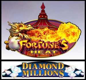 Fortune's Heat Progressive Slot by Konami