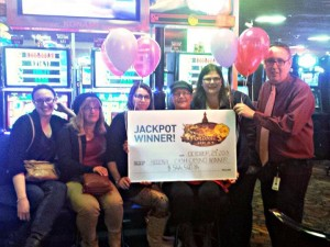 Davies family celebrates progressive slot win as Cash Casino Calgary