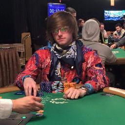 Live and Online Poker Pro Charlie Carrel