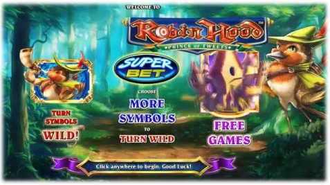 Robin Hood Prince of Tweets Features