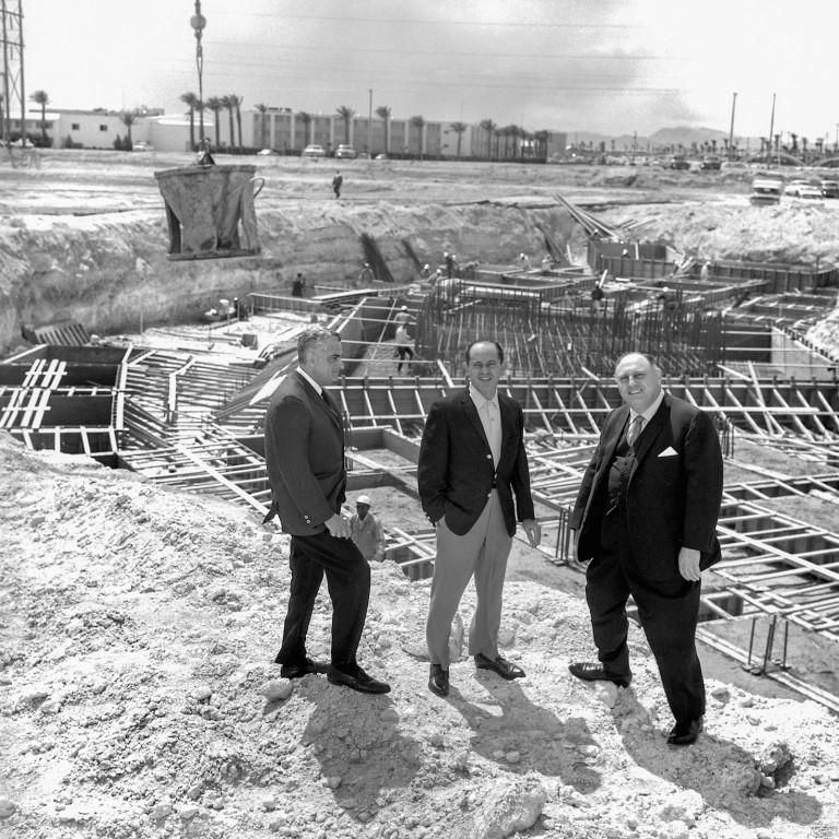 Caesars Palace Groundbreaking 1966