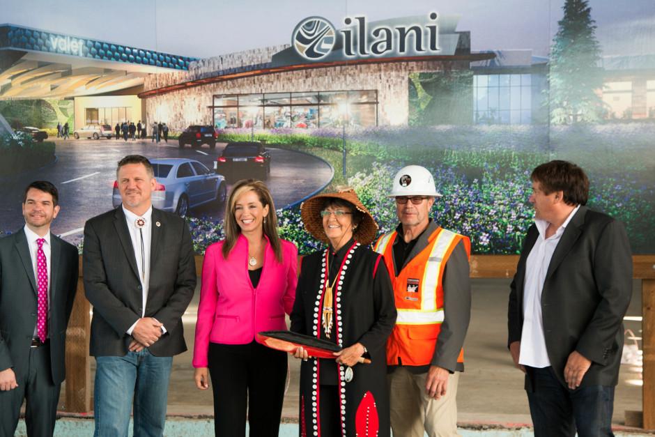Ilani Casino Unveiling Ceremony