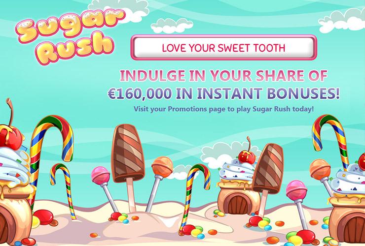 Royal Vegas Sugar Rush Online Casino Promotion