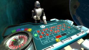 Virtual Reality Roulette from Microgaming
