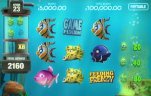 New Tablet Slots Game - Fish Tank Slot Algae Attack Bonus