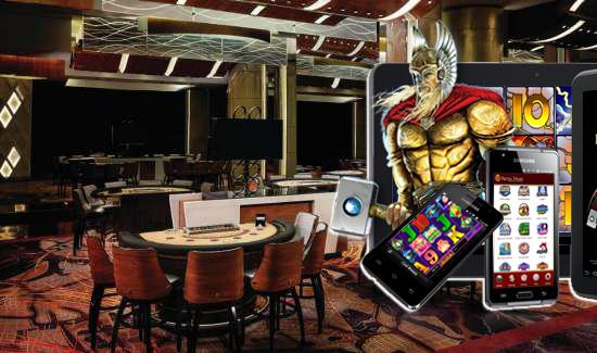 Offline and Mobile Casino Gaming Unite