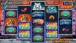 Siberian Storm 720 Ways Slots by IGT