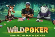 Floyd Mayweather on Mobile Casino App Wild Poker