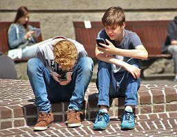 Kids Hooked on Smartphones and Tablets