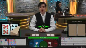 Live Dealer Tables - Baccarat eSqueeze