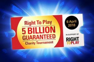 PokerStars hosting Free Poker Tournament to benefit Right to Play