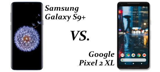 Mobile Casino Games on Samsung S9+ vs Pixel 2 XL