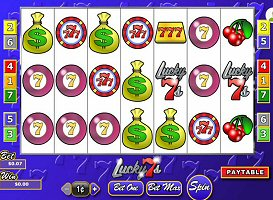 First 7 Reel Slots, Lucky 7's