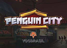Save the Penguins from the Evil Emperor in Penguin City, New from Yggdrasil