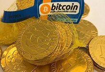 Best Blockchain News Ever, Bitcoin made of Chocolate