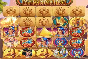 Egyptian Dreams Deluxe Scarab Feature