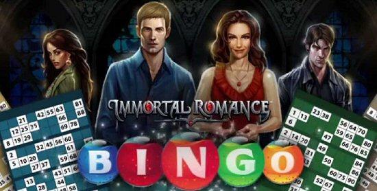 Immortal Romance Online Bingo by Microgaming