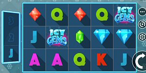 Baby It's Cold Online: Icy Gems Slot from JFTW