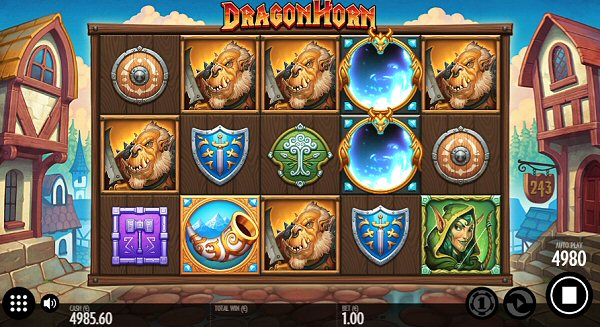 Thunderkick gets Medieval with Dragon Horn Slot