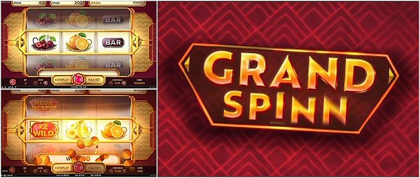 Dive into the new Single-Line Retro Slot Machine Grand Spinn from NetEnt