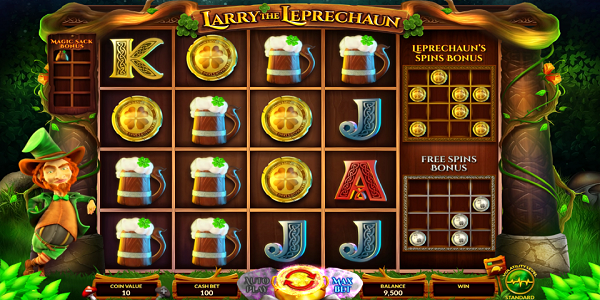 Larry the Leprechaun Online Slot by Wazdan