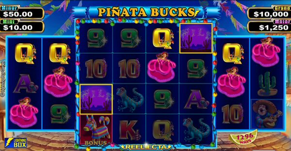 Pinata Bucks Mobile Slot