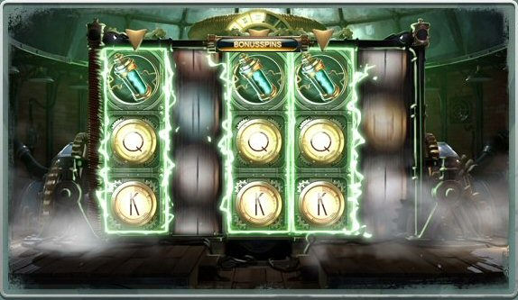 Nikola Tesla Slot FEatures