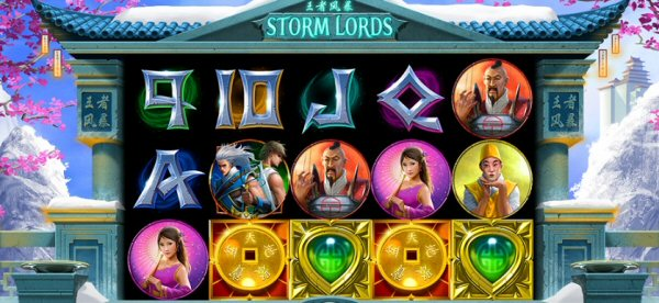 Storm Lords Online Slot by RTG