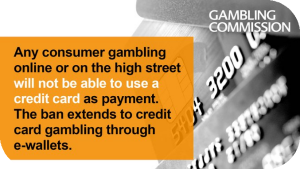 UKGC Bans Credit Card Gambling